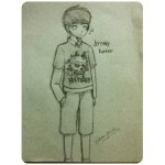 Pencil Drawing of Jeremy Barker Artist: Chelsea Menda (age 14) Location: Philippines